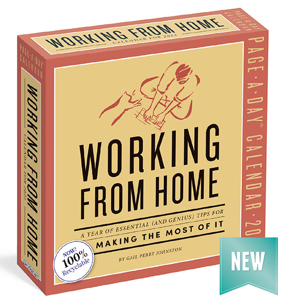 Working From Home 2022 calendar