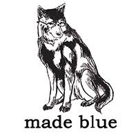 made blue