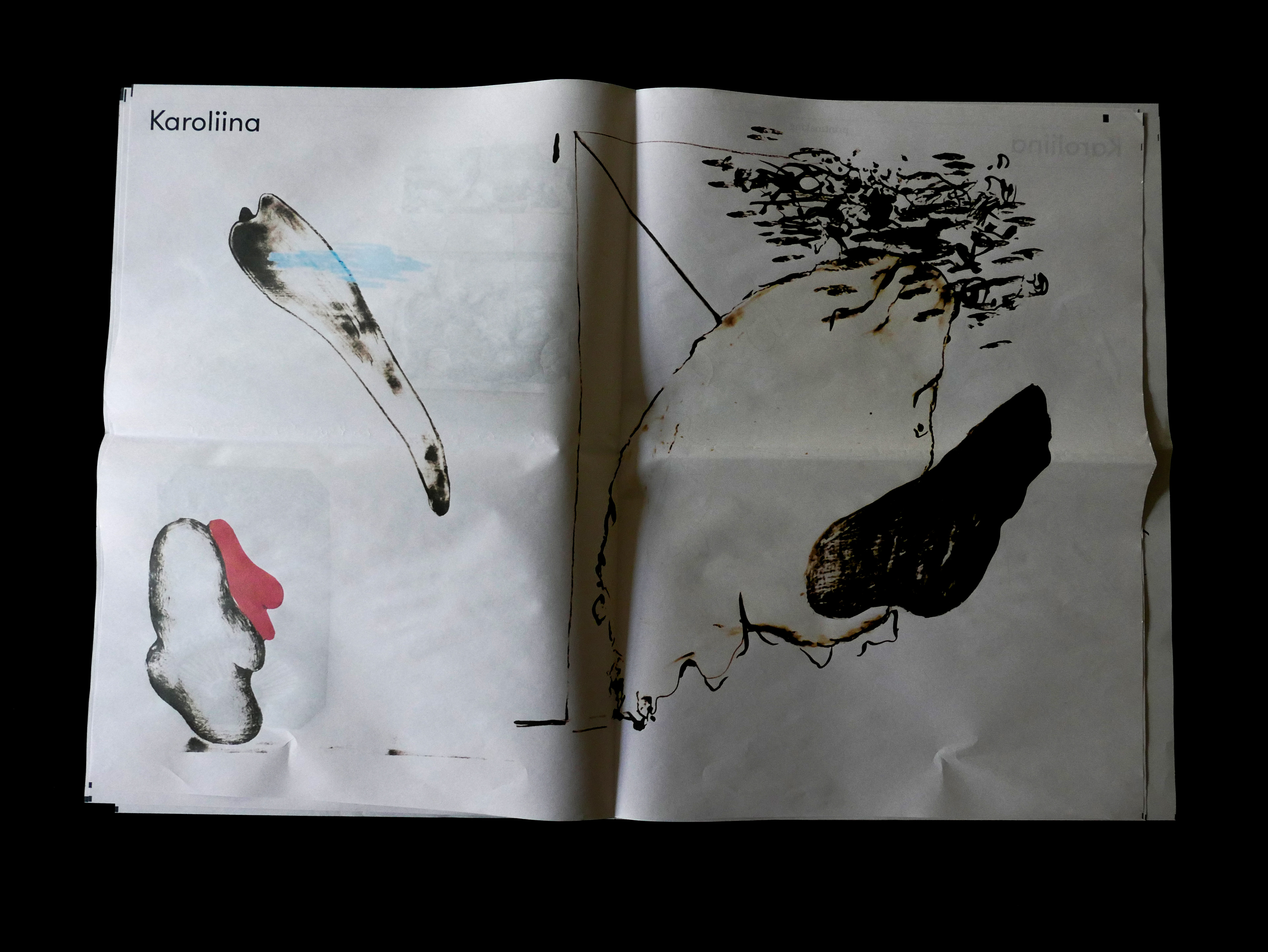 Aleksandra Braska How To Draw Newspaper Publication