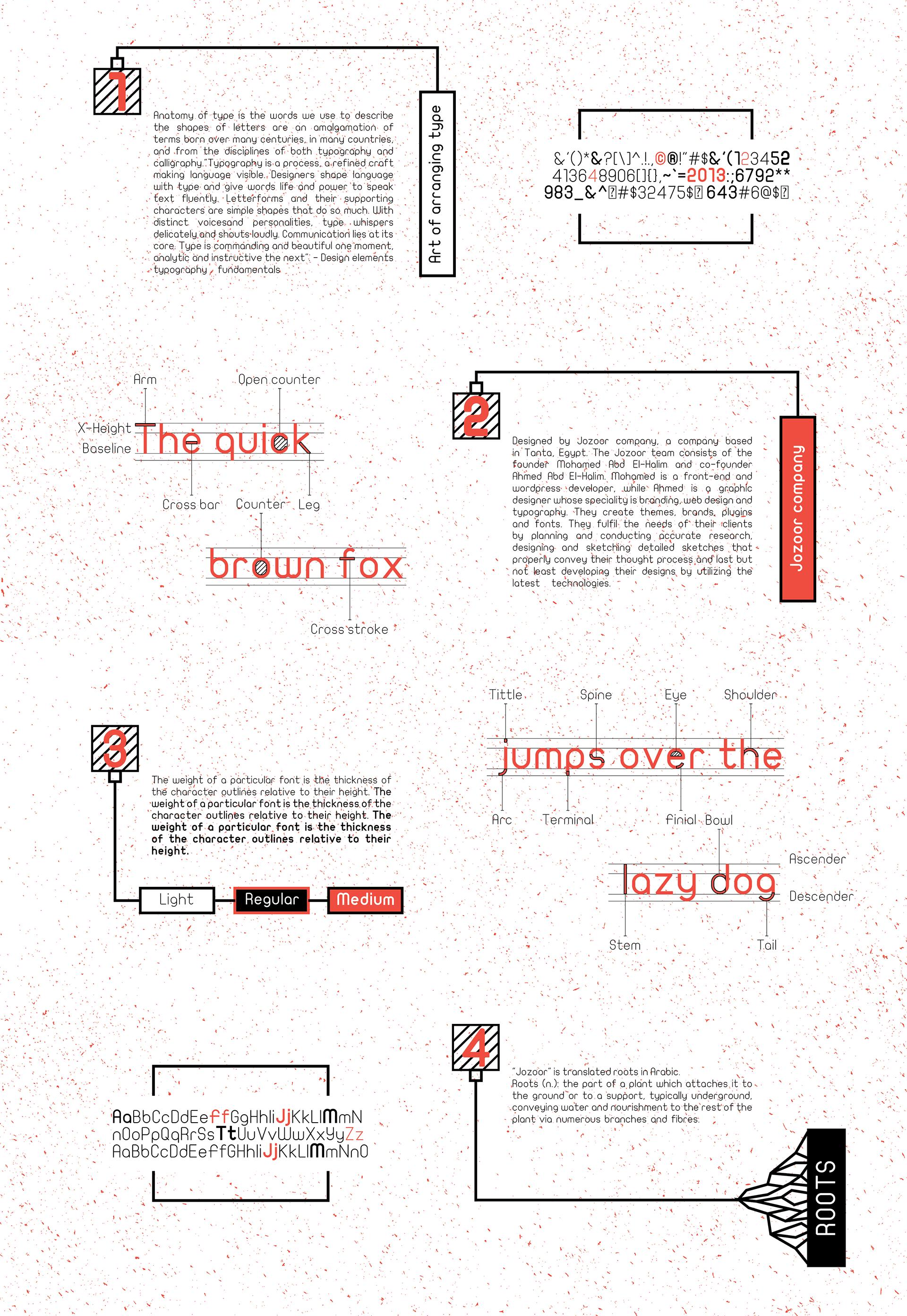 Foziya Alaujan - Typography I - Brochure (P1)