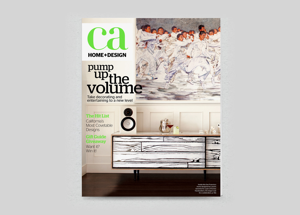 lovenrockets design - Magazine Covers: CA Home+Design