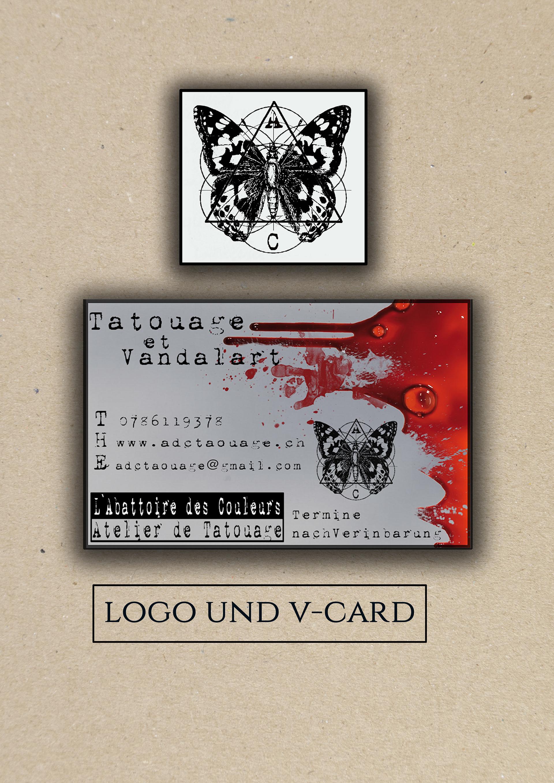 neo lygotama - business card tattoo shop