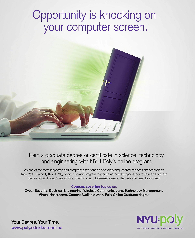 jeremy rech portfolio - nyu-poly online learning print ads