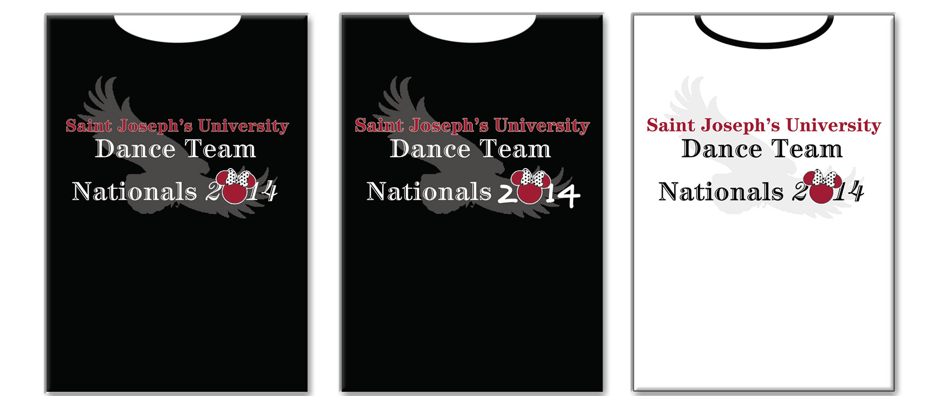 Beverly Pigford Sju Dance Team Shirt Designs