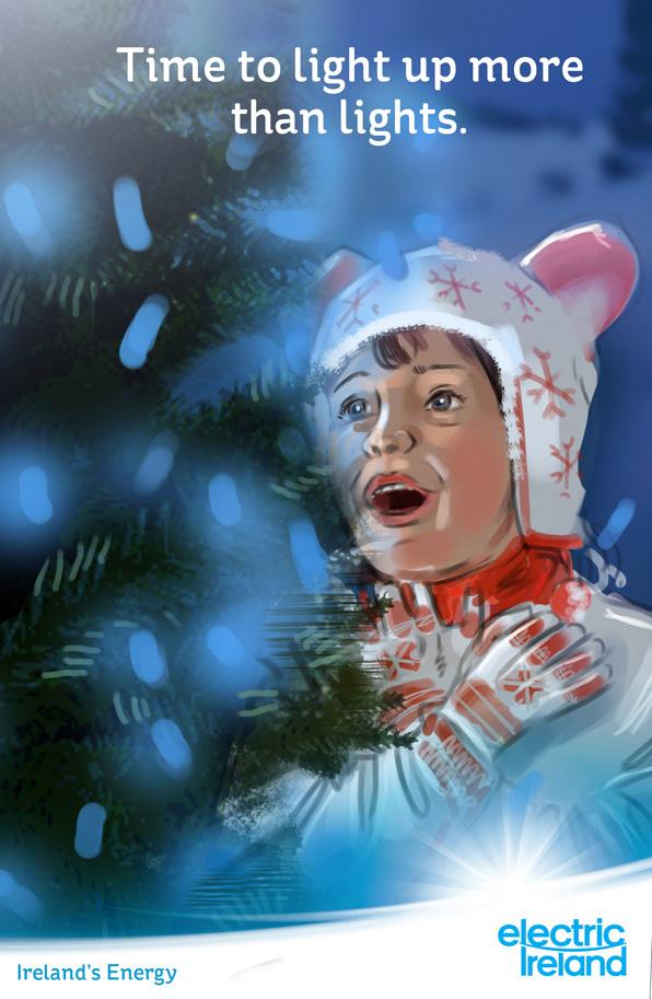Roger O'Reilly - ESB/ Electric Ireland Christmas Campaign