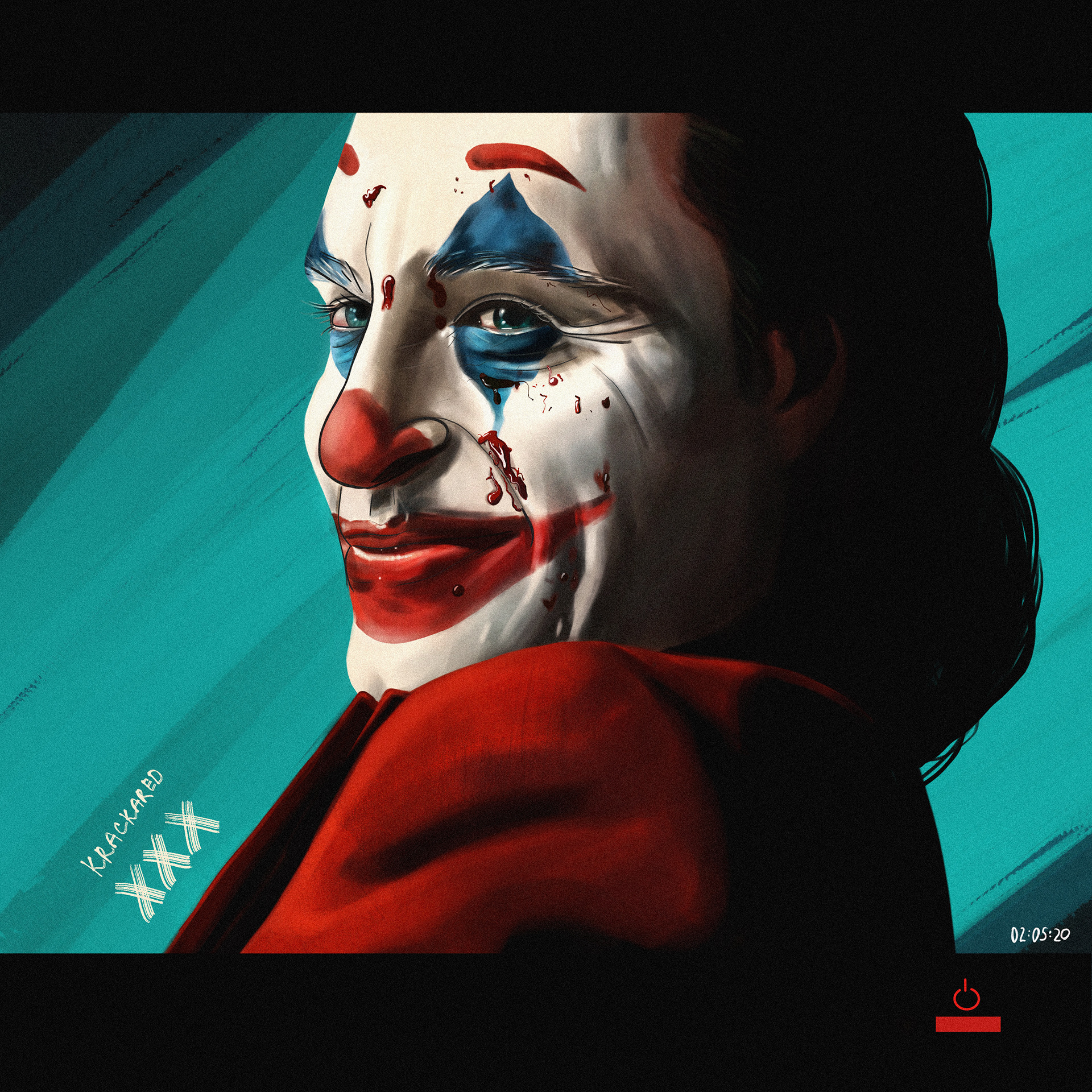 Darya Krasnova Joker Fanart