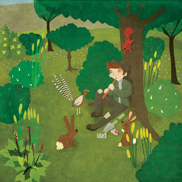 Annie Wilkinson - The Secret Garden