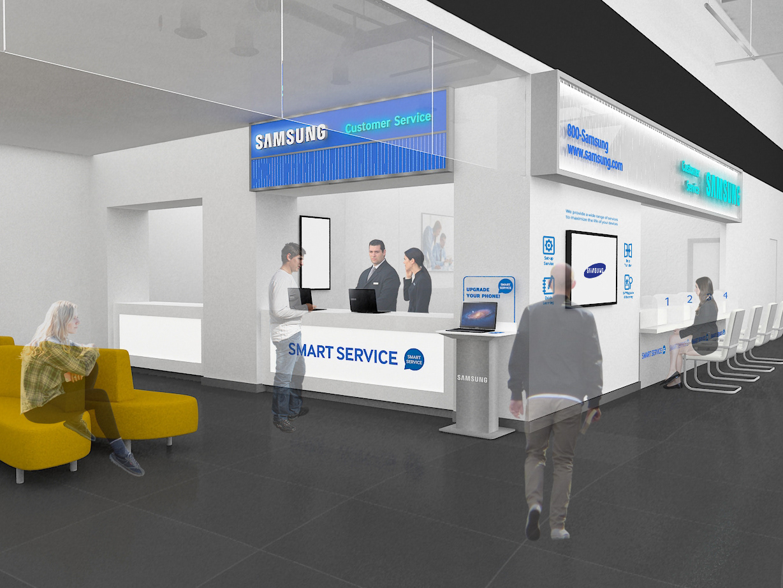 Amie Hyewon An - Samsung Service Center @Time Square, Dubai 2015