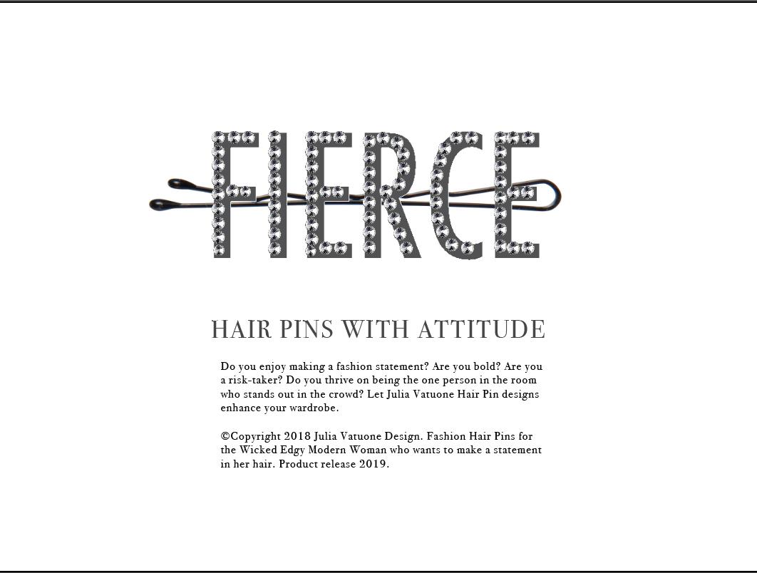 Julie Vatuone Product Design | Fashion Hair Pins