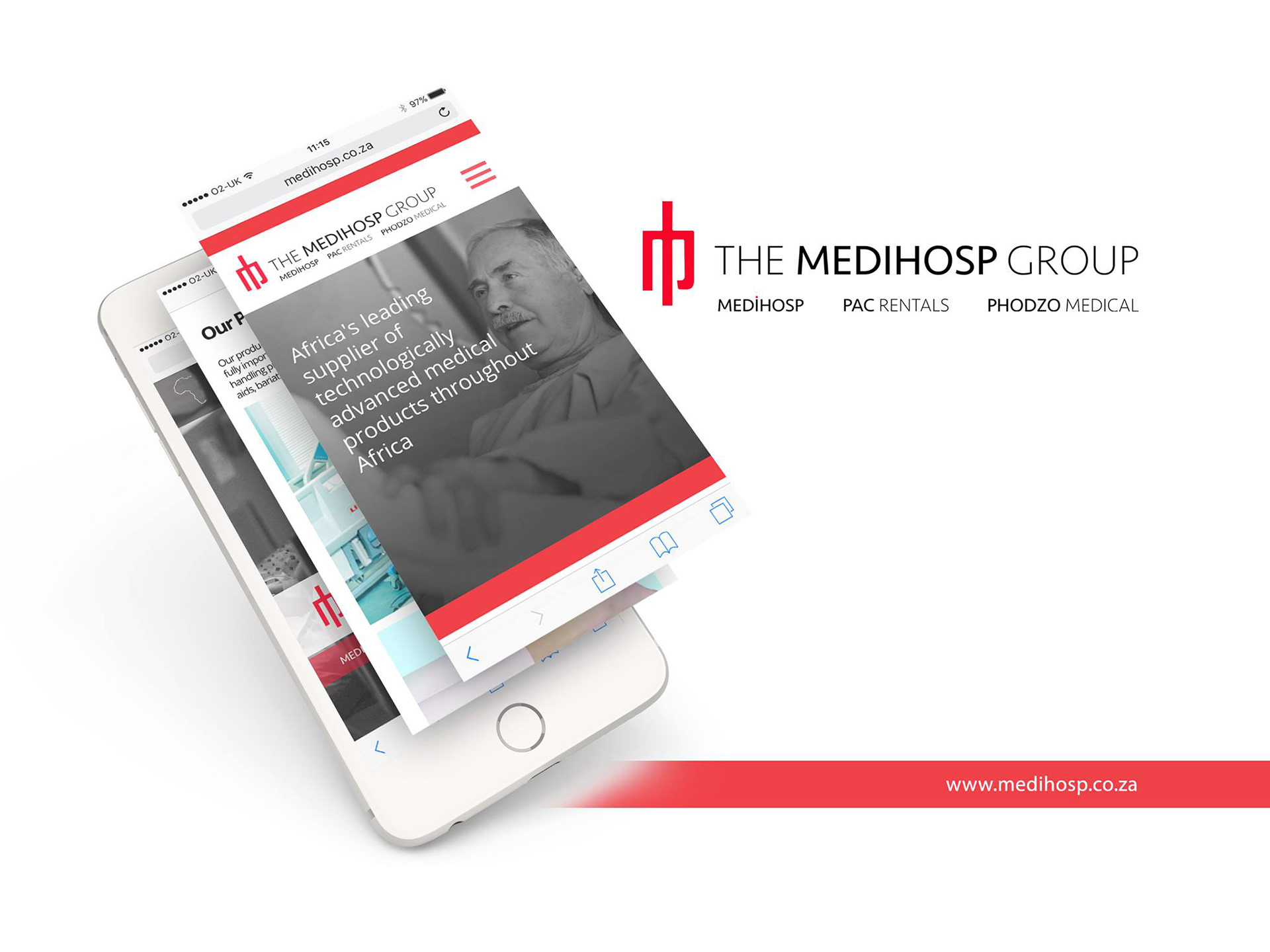 Design And Web Development Of South African Healthcare Giants Medihosp