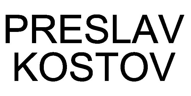 Preslav Kostov