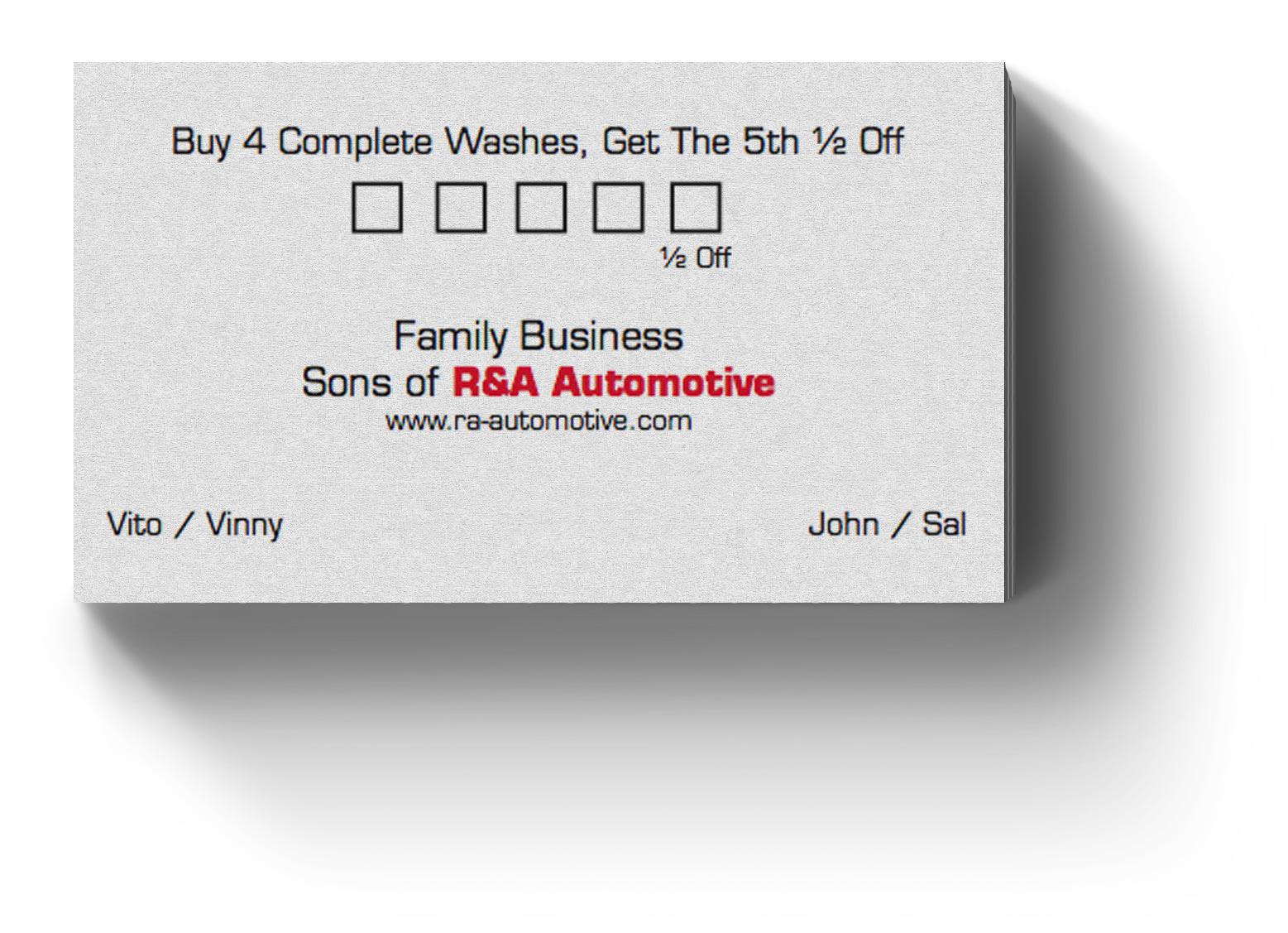 Eric Harris - Freelance Business Cards