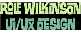 Rolf Wilkinson UI/UX Design