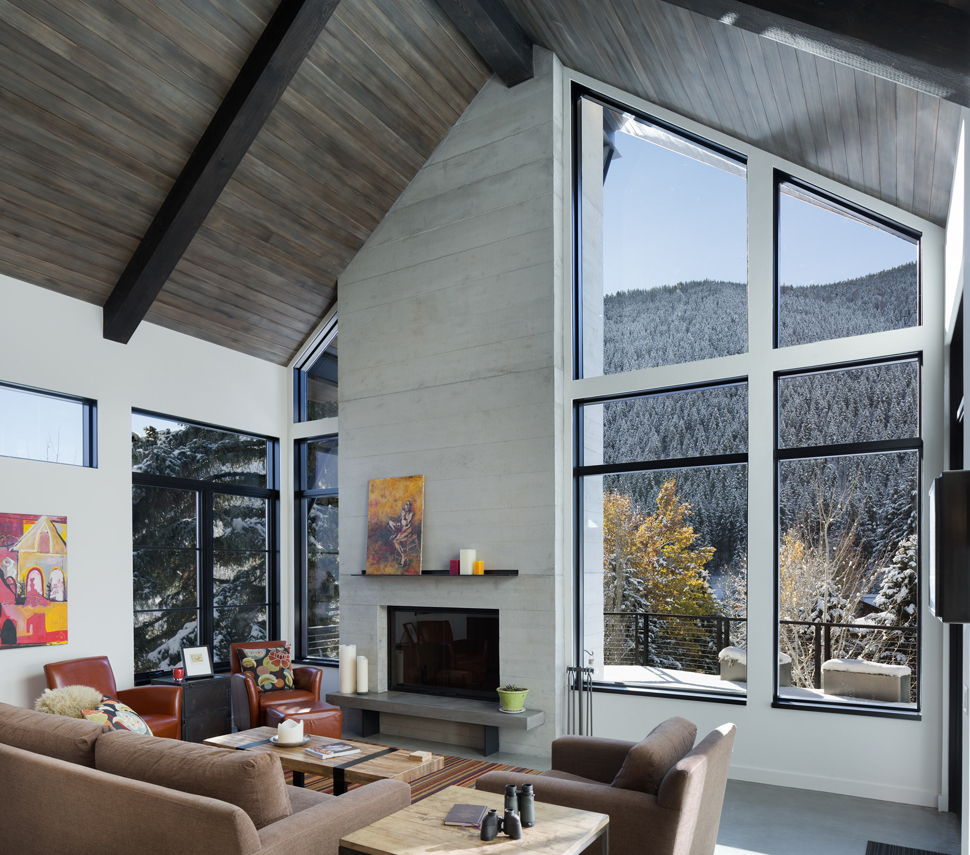 Sun valley photo mountain modern in sun valley idaho for A d interior decoration contractor