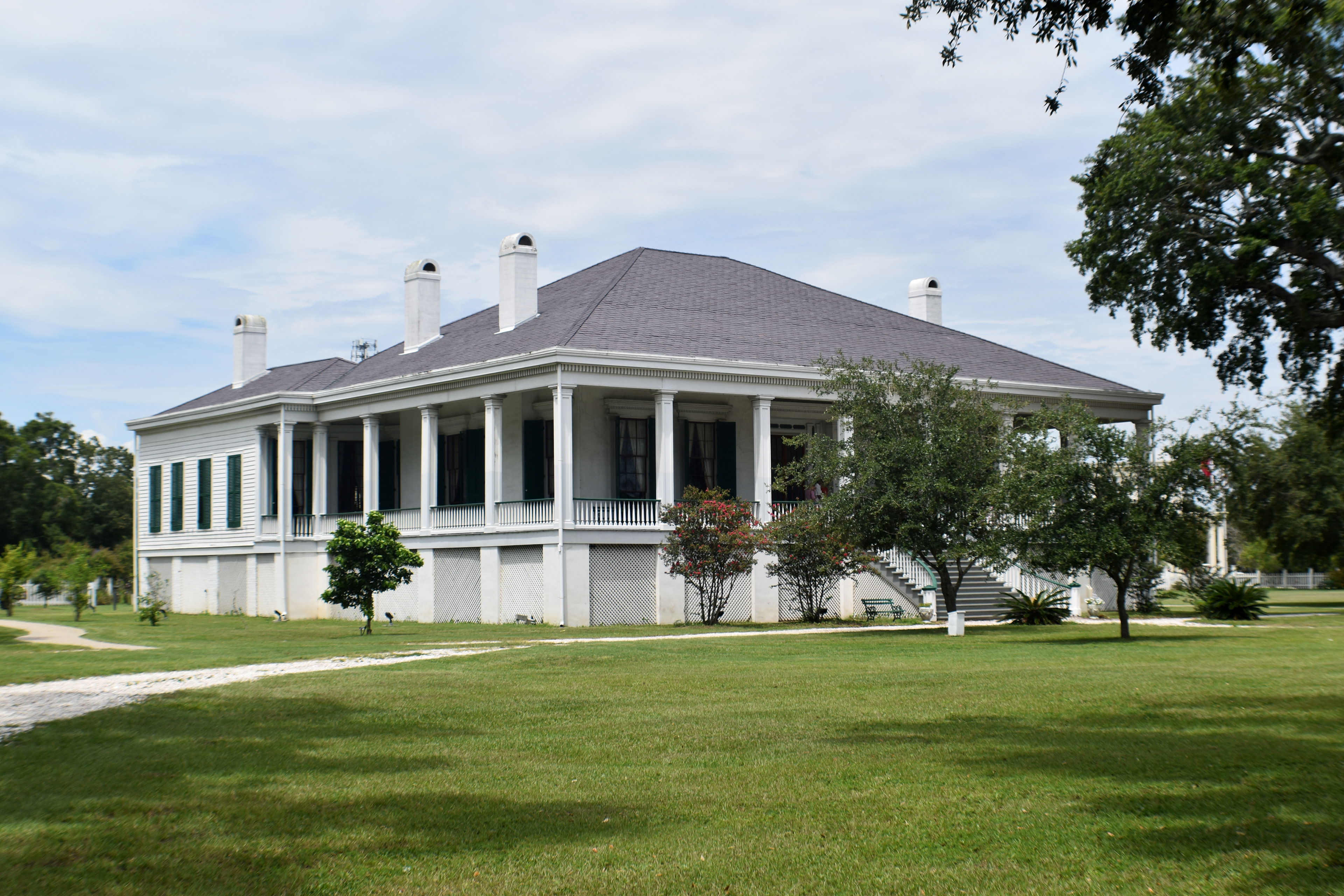 Coastal Wanderer Biloxi Light And Beauvoir Mansion Biloxi Ms