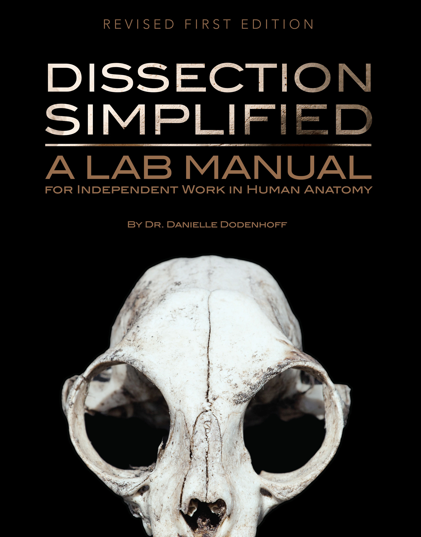 Jess Estrella - Dissection Simplified Lab Manual Book Cover Design