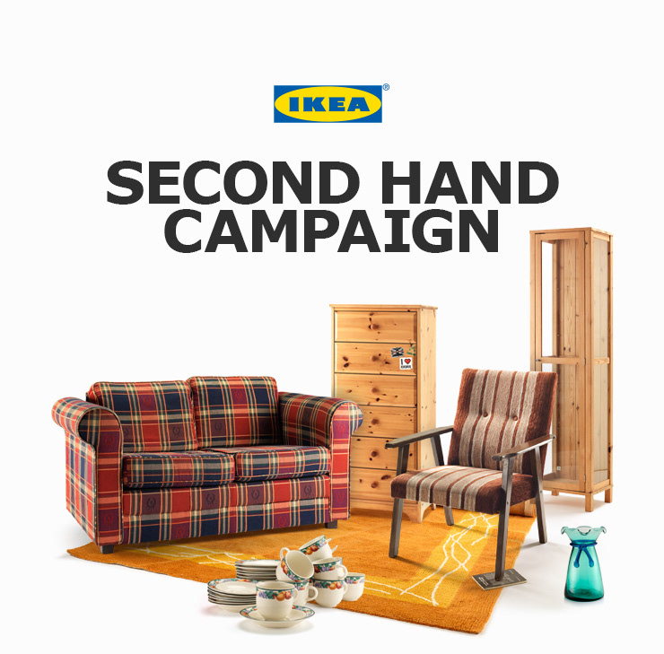 Nicklas Hellborg - Design & Art Direction - IKEA Second Hand