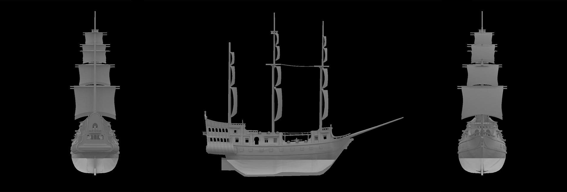 3D MODEL) 6 Player Ship | Sea of Thieves Forum