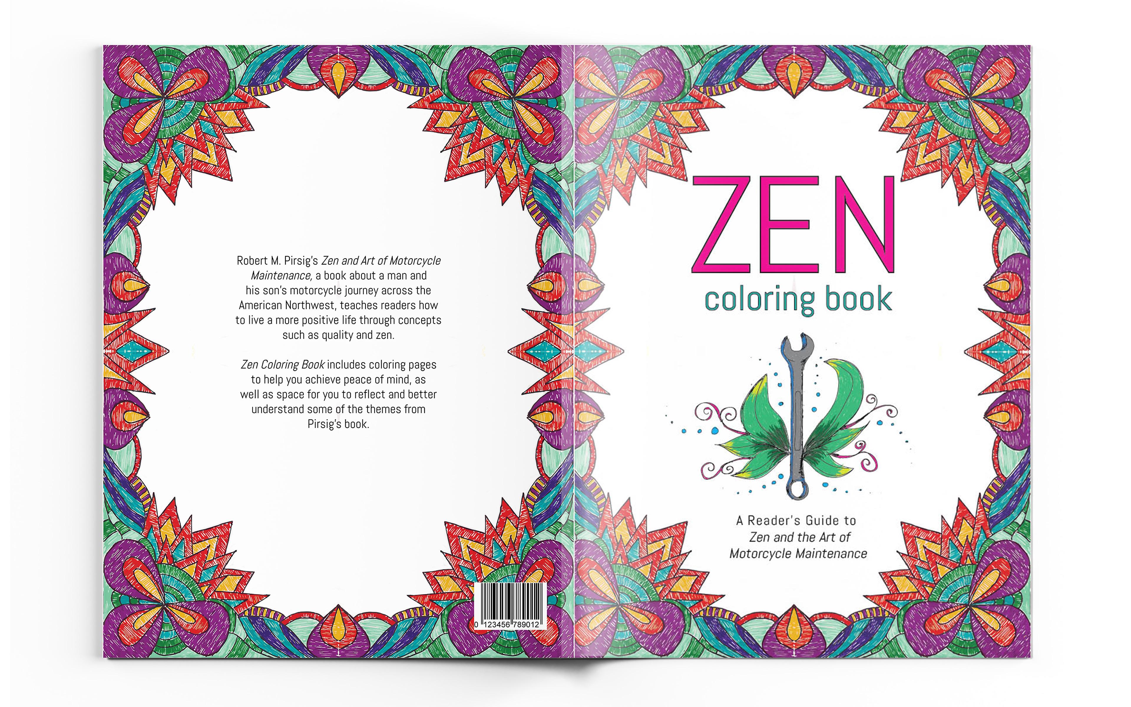 Ina Quijano Zen Coloring Book