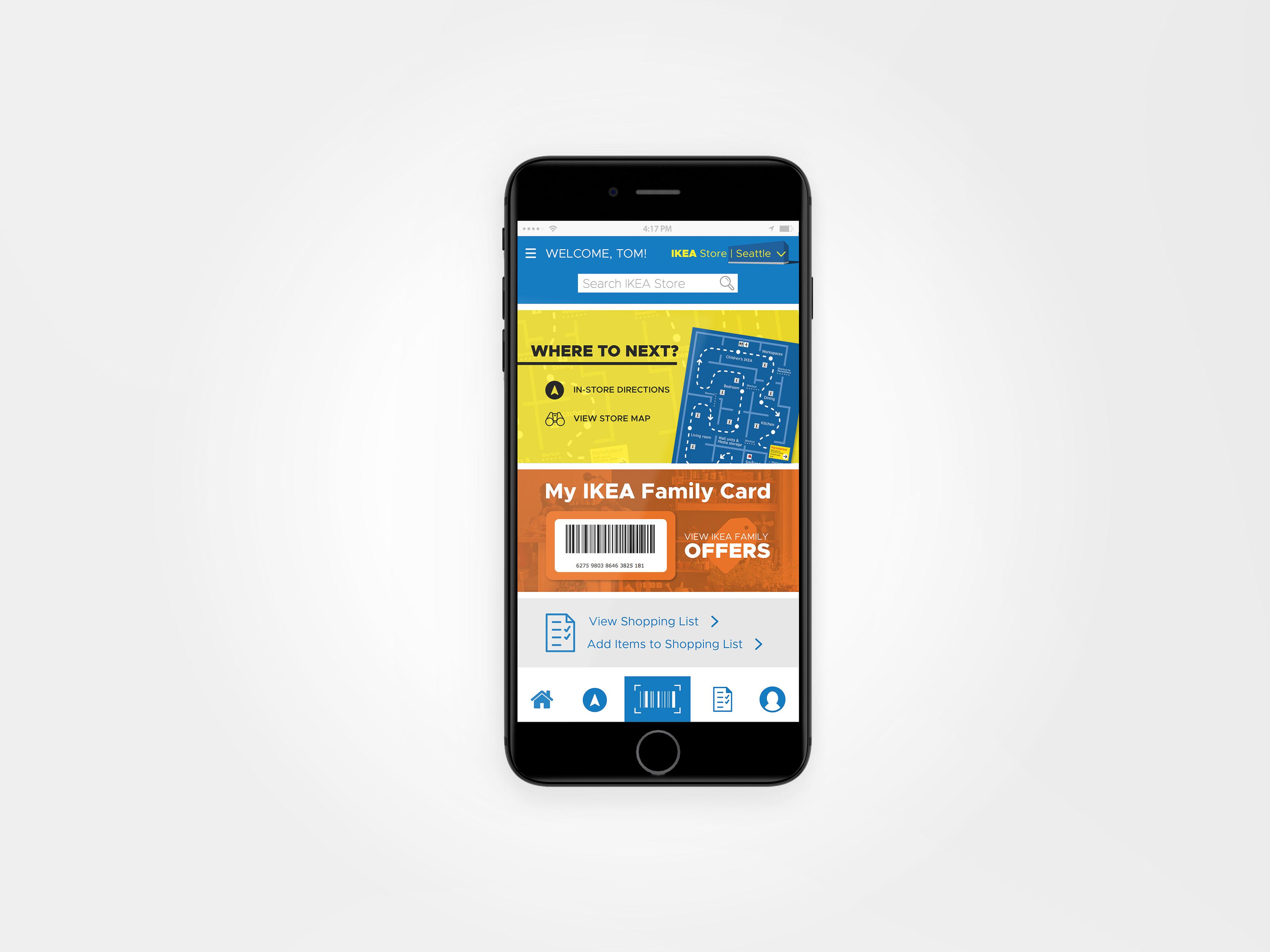 Ikea Kundenkarte App