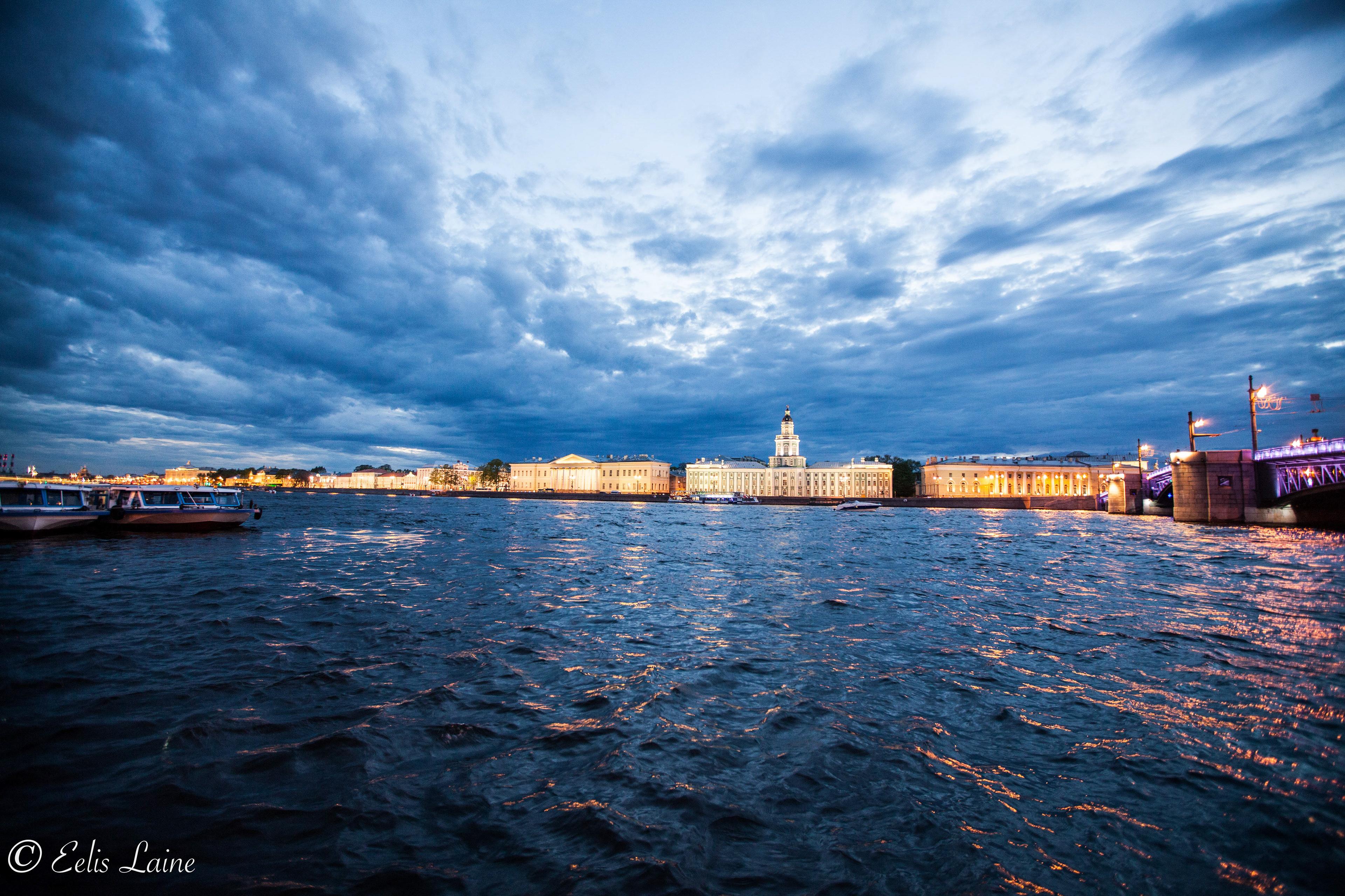 Ночь в Санкт-Петрбурге