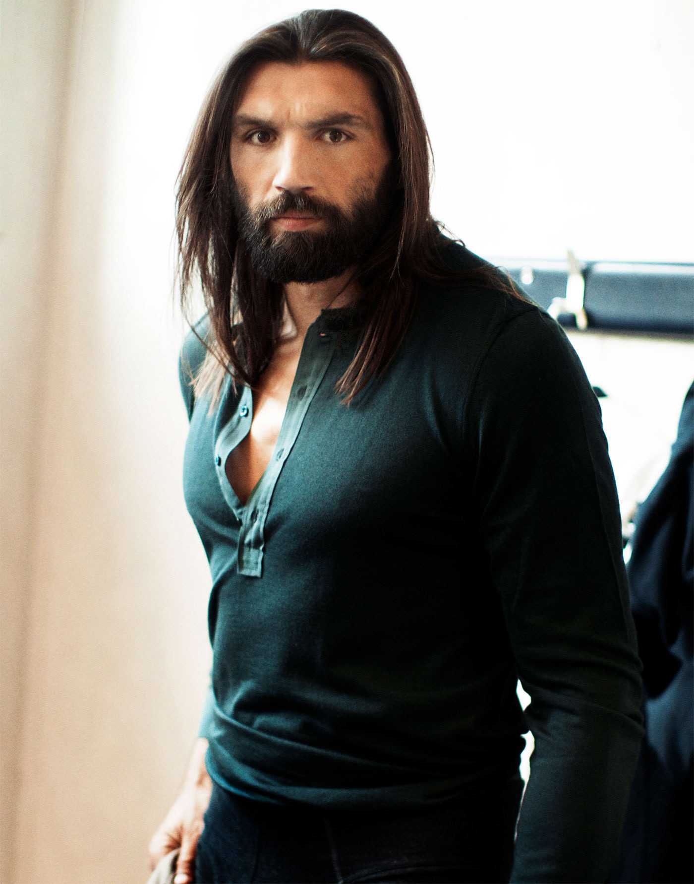 Giampaolo Vimercati Photographer Sebastien Chabal Rugby Player