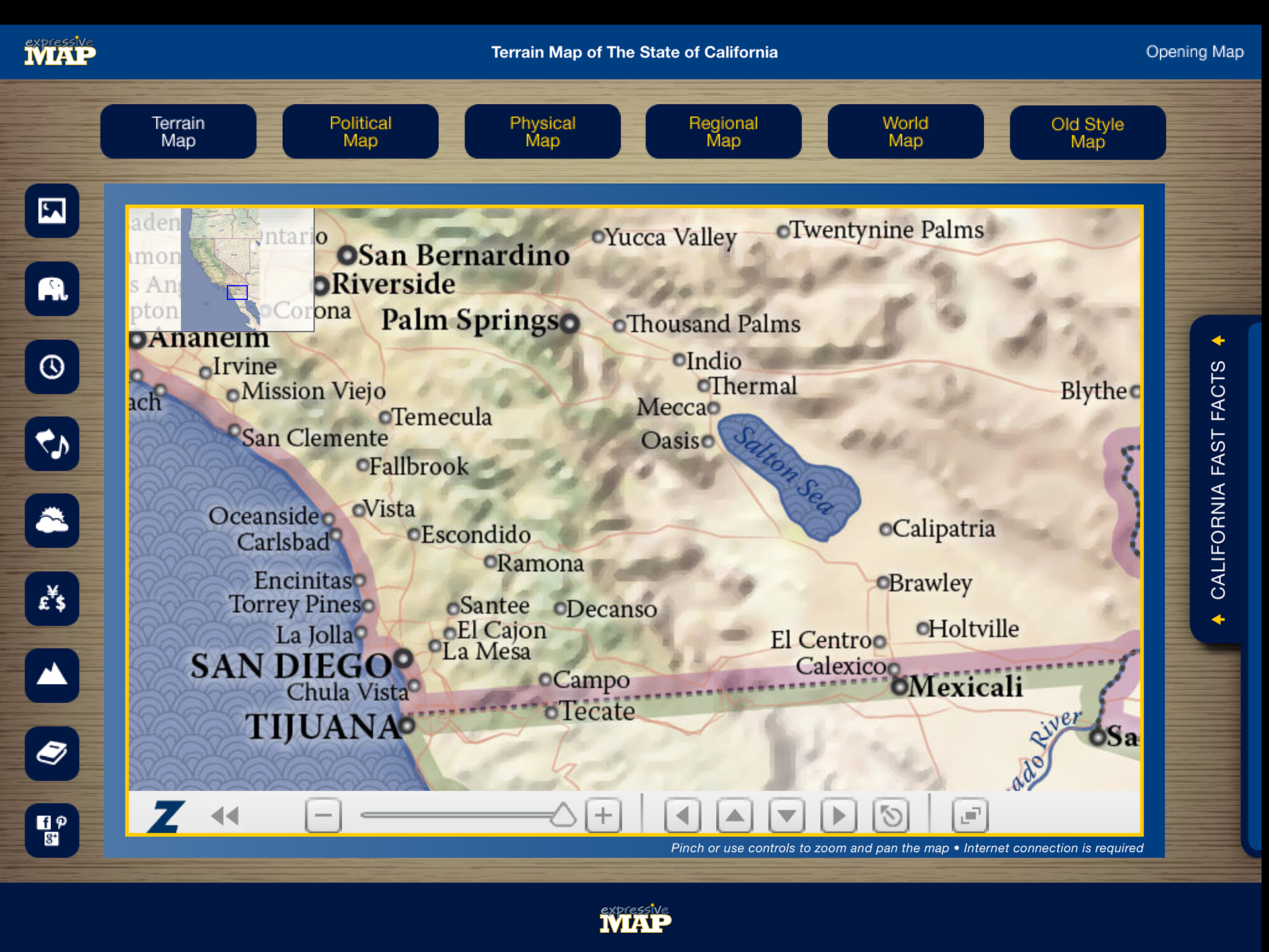 Eric olason mapmaker cartographic artist app california i have since made a decision to no longer work creating apps in favor of making oversize wall maps for business home and office under the same brand name gumiabroncs Choice Image