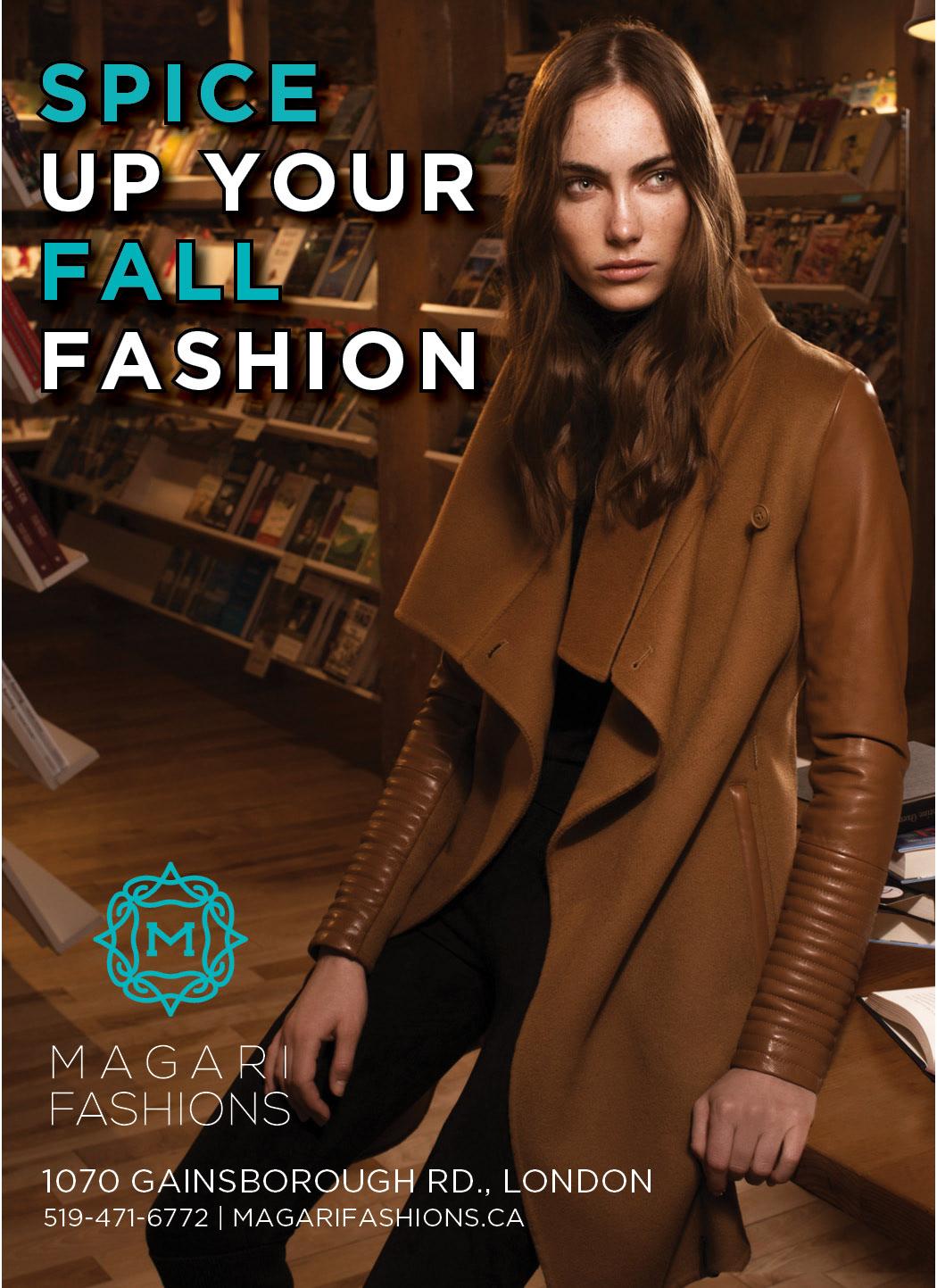 Nicole LaFlair - Magari Fashion Ads