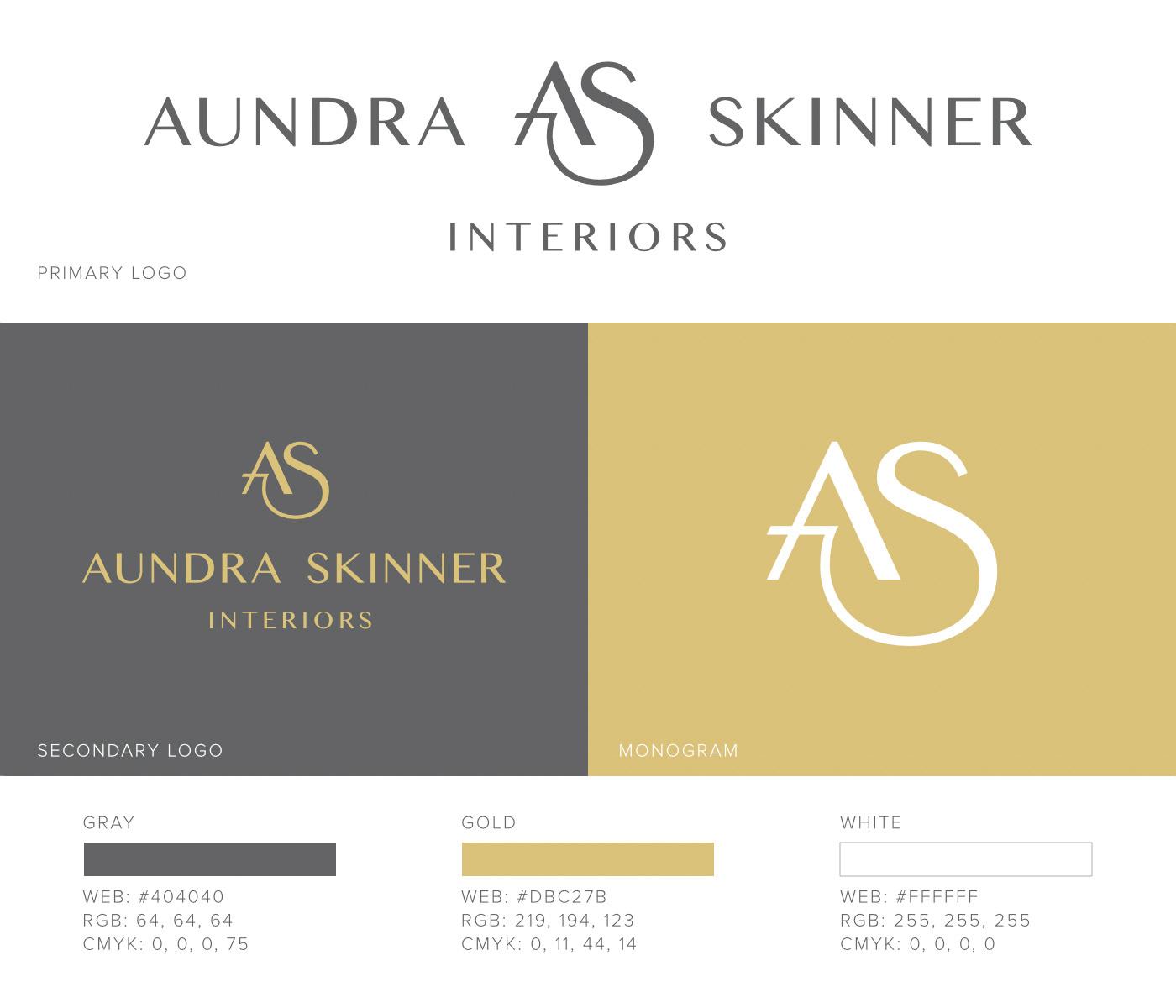 kyle chicoine graphic designer aundra skinner interiors
