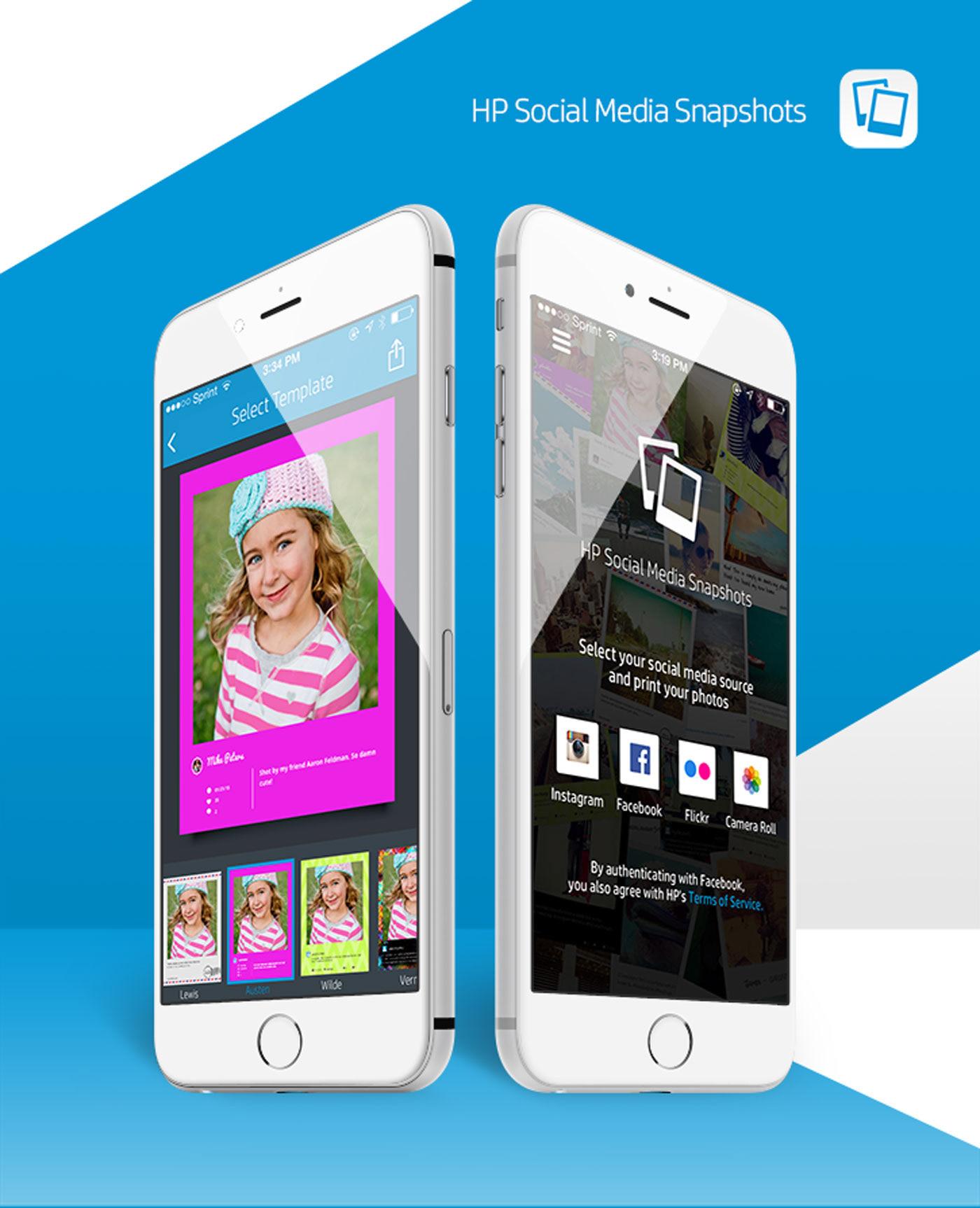 Mike Peters Hp Social Media Snapshots Mobile App