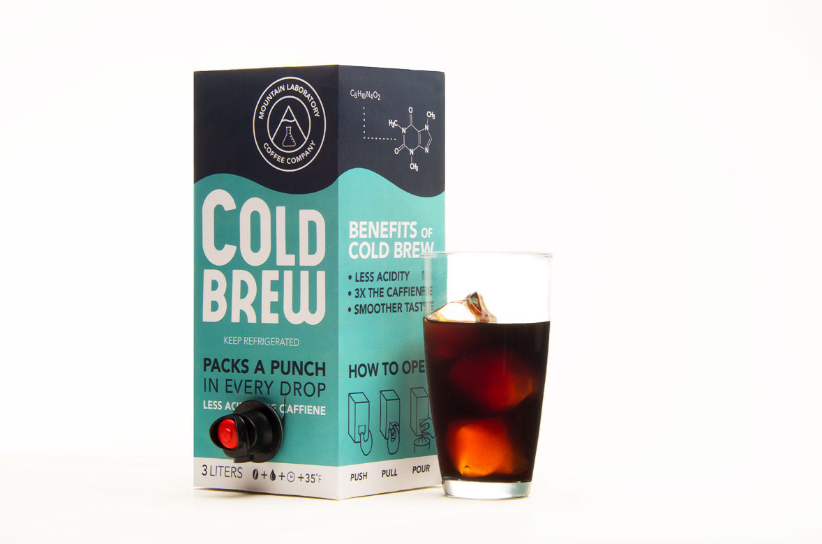 Craig Cameron - Cold Brew Package Design