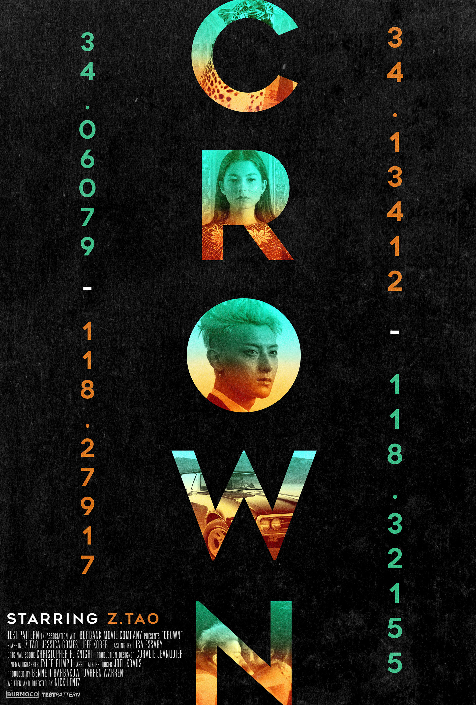 Key Art Design : Movie poster key art design garry marta crown
