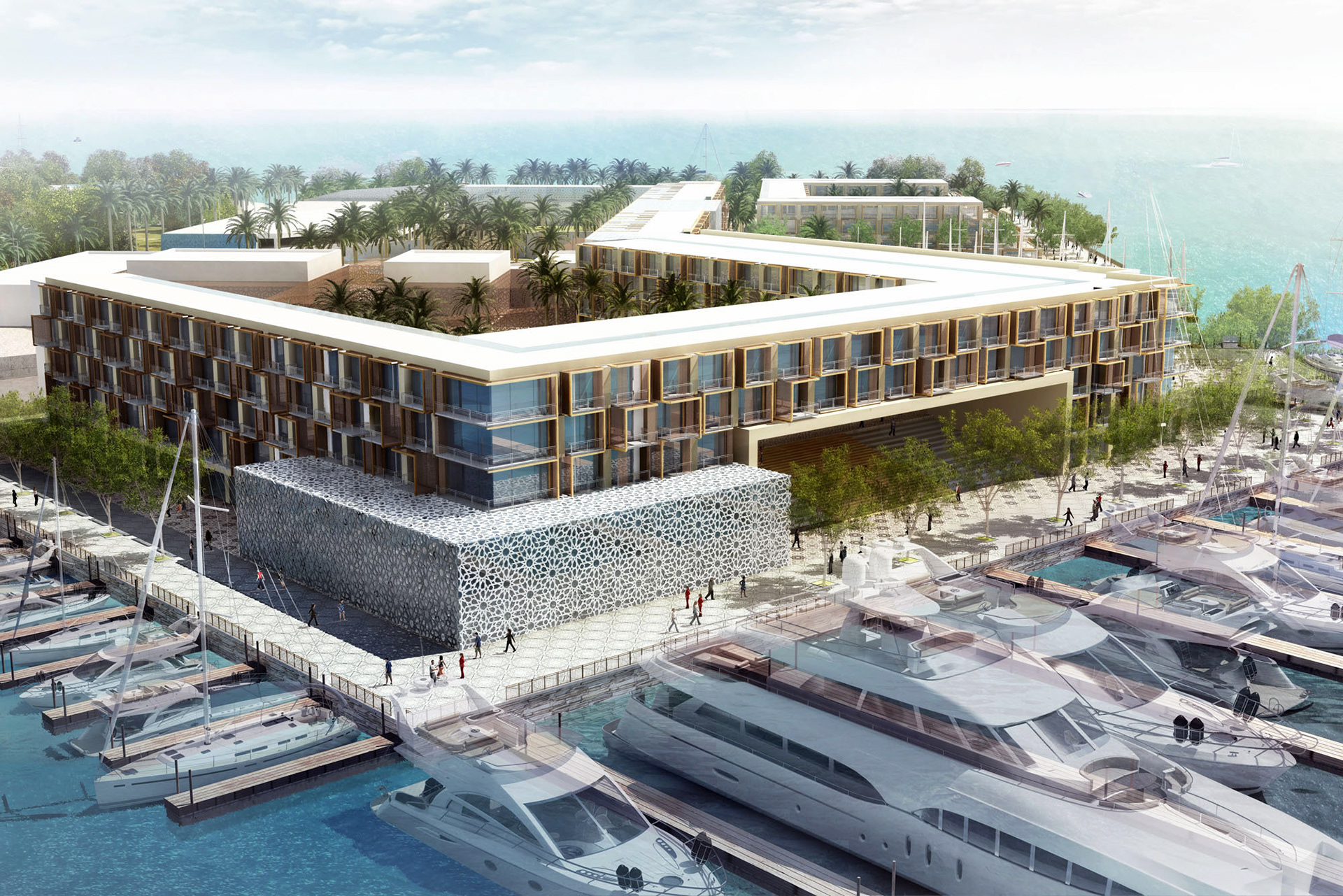R A Design Marassi Marina 5 Star Hotel Yacht Club