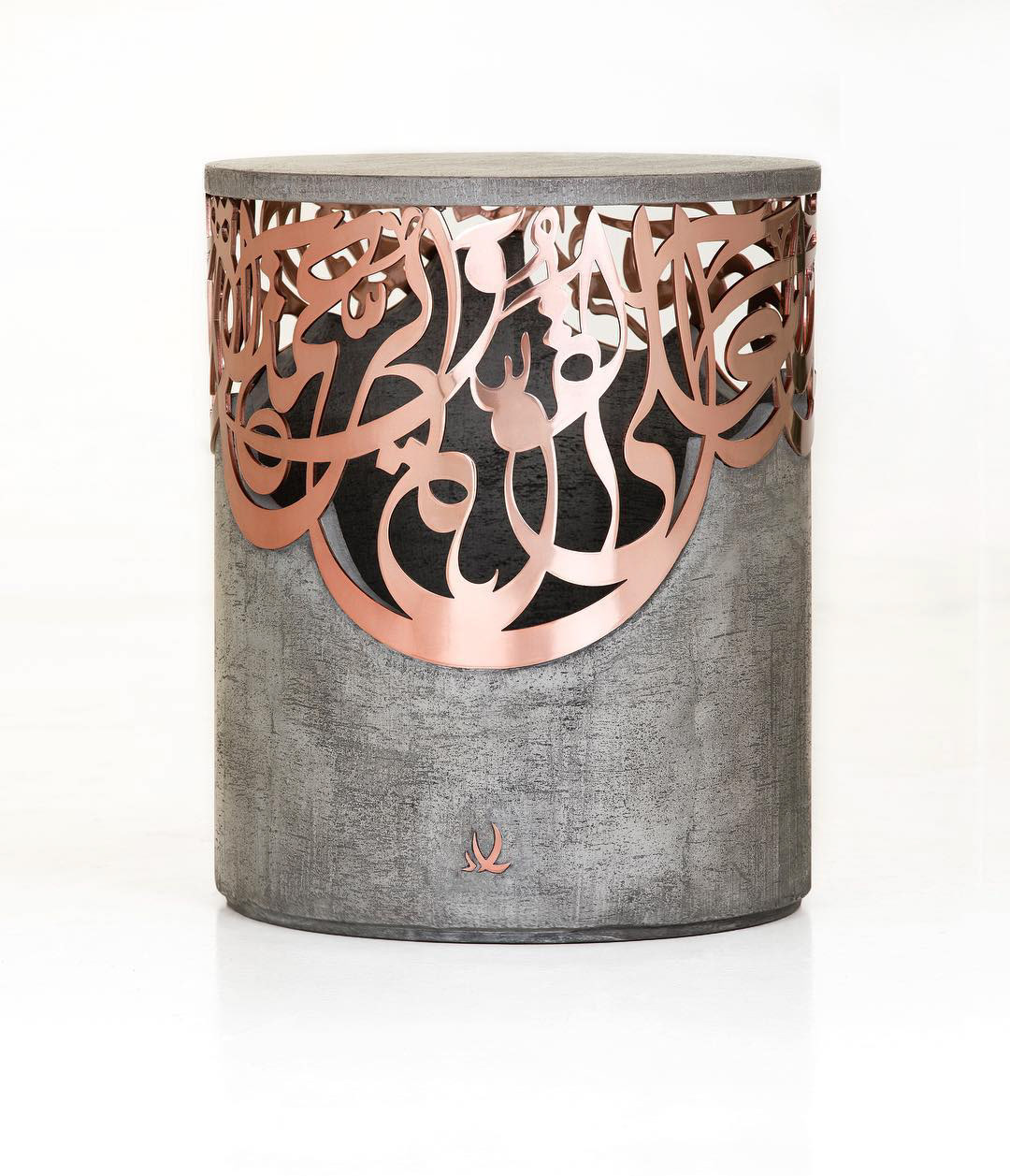 My Classical Arabic Calligraphy Works In The Form Of Modern Furniture Pieces Collaboration With Designer Iyad Naja