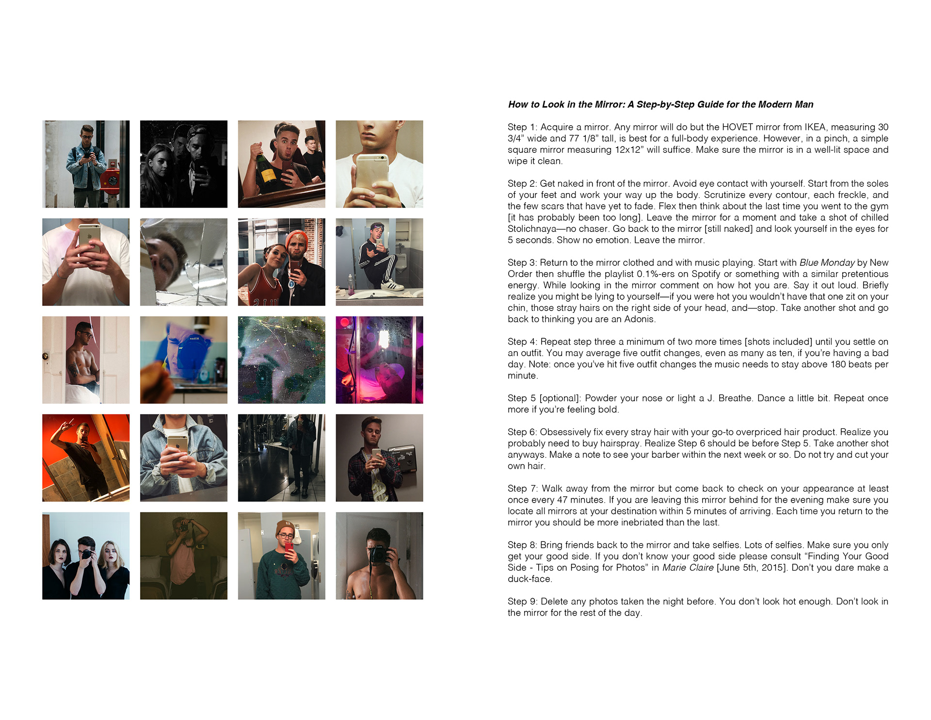 The Project Is Intended To Be A Short Chapbook And Images Below Are Spreads From Book