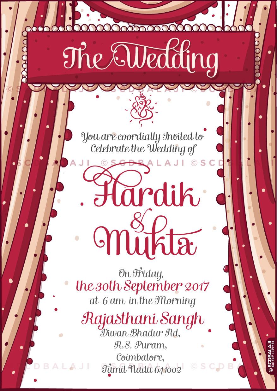 30 Beautiful Wedding Invitation Card Hindu Pics - Wedding Invitation ...