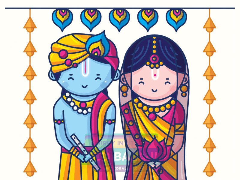 Quirky Indian Wedding Invitations Cute Indian Brides And Grooms Illustrations