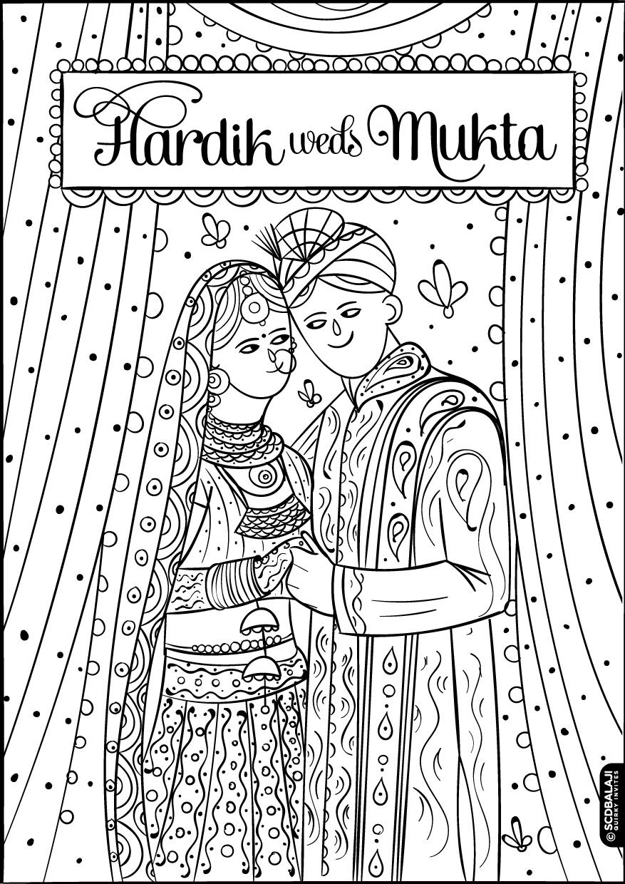 Quirky & Creative Indian Wedding Invitations Hindu Punjabi