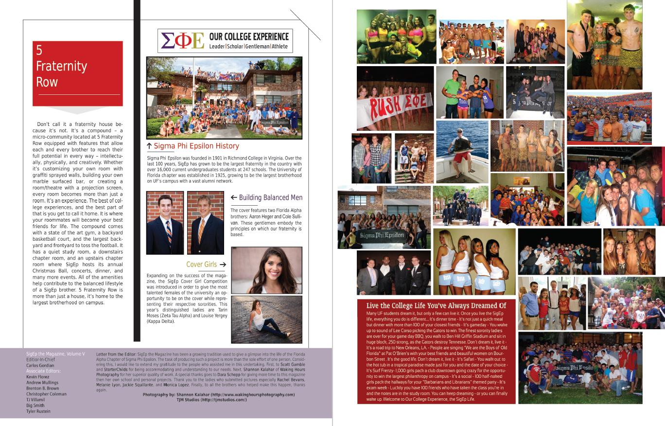 Kevin Florez Bernal - Sigep Rush Magazine