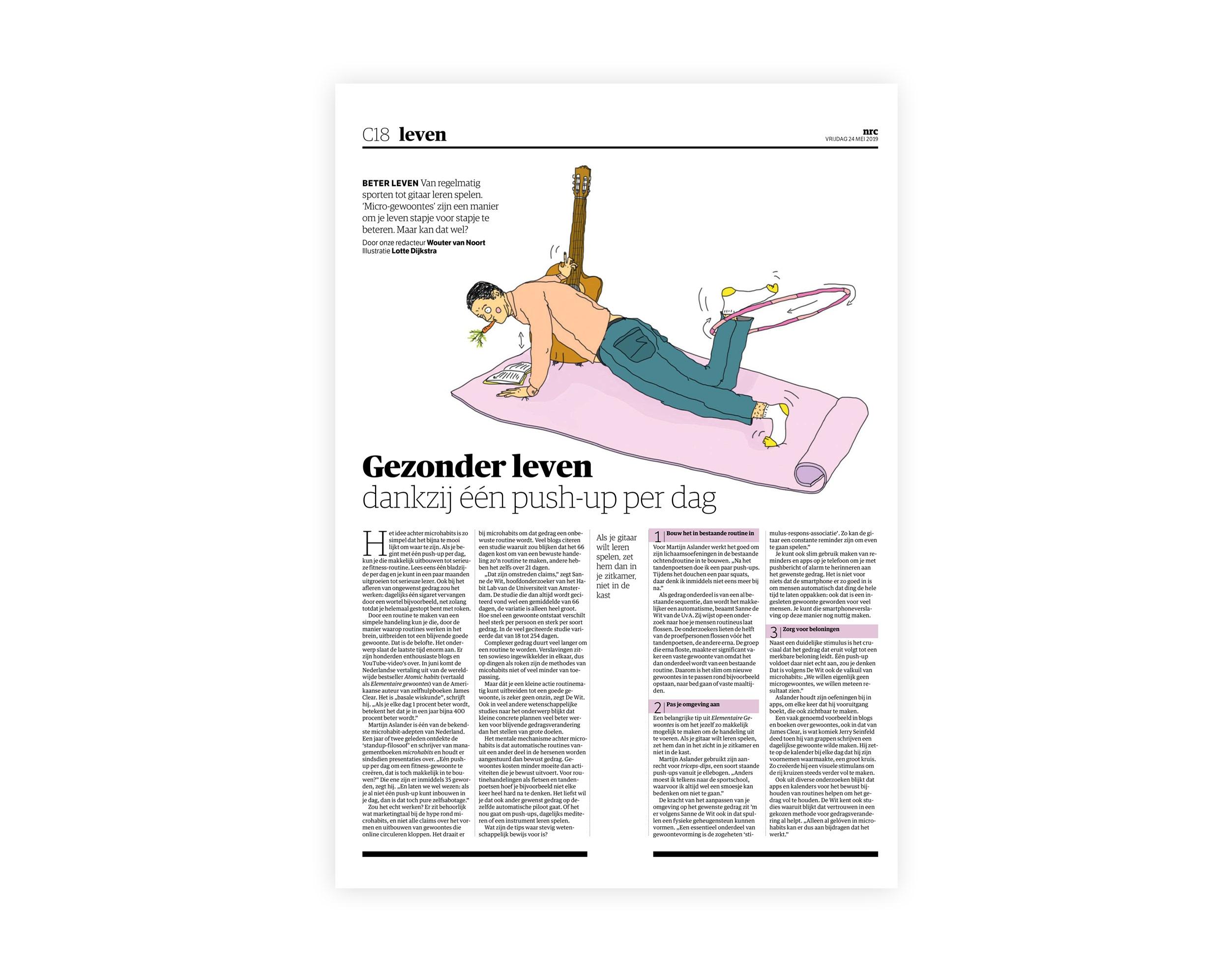 12a24aa9eab7f7 Publicaties Projecten Vrij Werk Visual Notes Over Lotte Contact ...