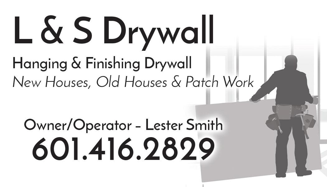 Shondae Walker Ls Drywall Business Card