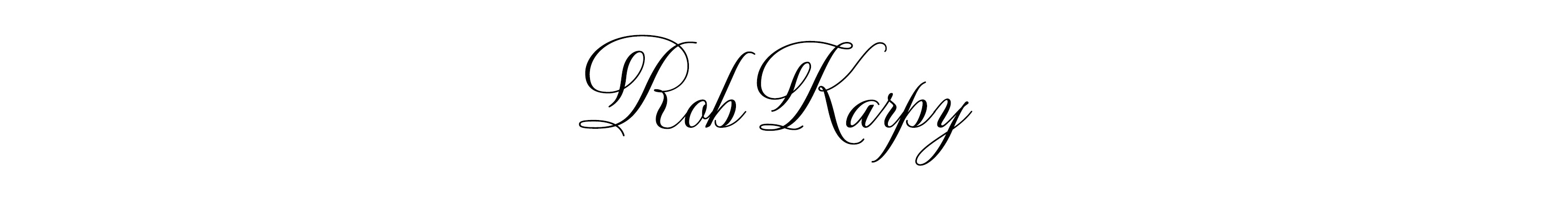 Robert Karpavicius