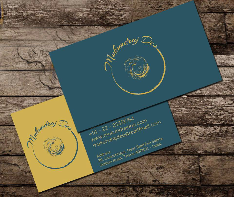I Have Tried To Bring The Force And Rhythm In Logo Visiting Card