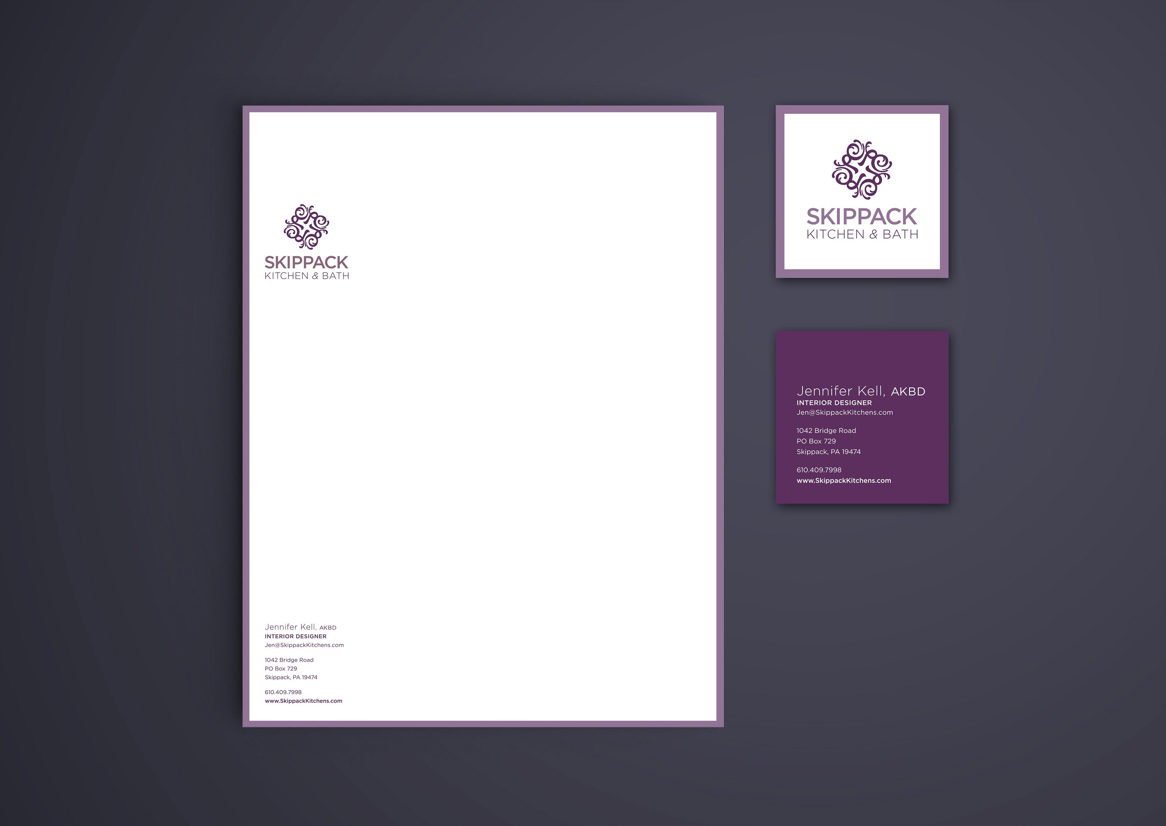 Komprehensive Design - Skippack Kitchen & Bath Identity
