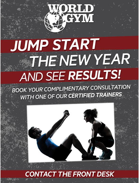 christine david - World Gym New Year Deals
