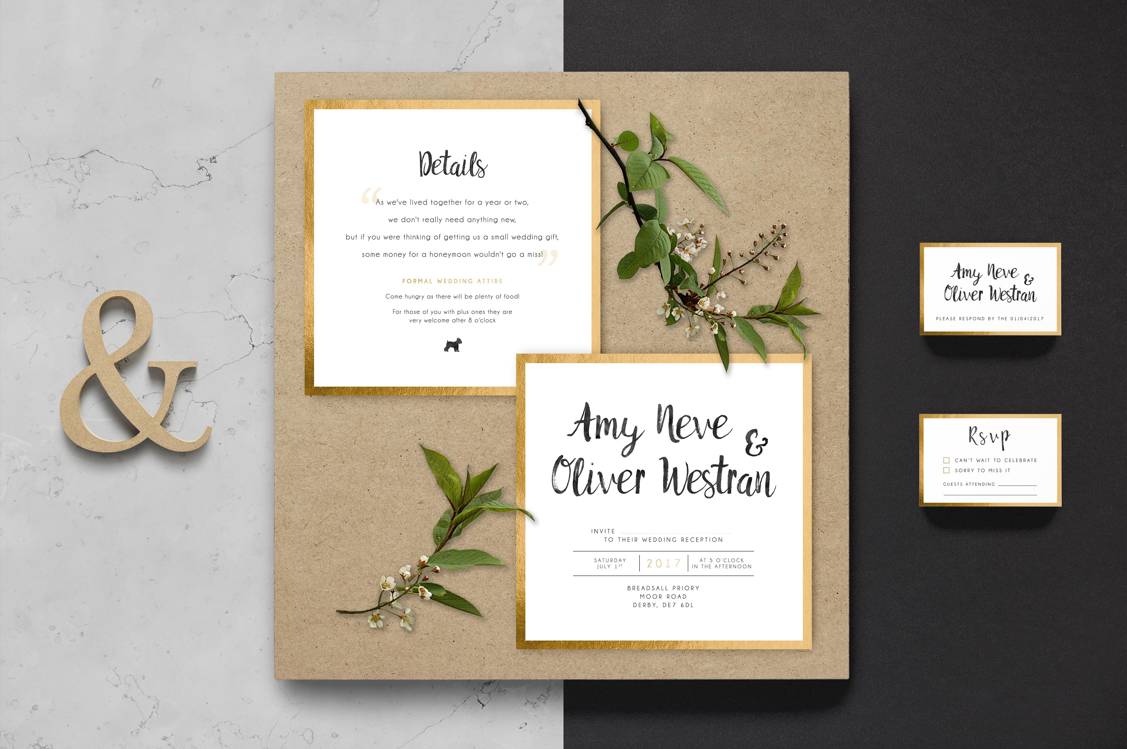 Emily Neve - Wedding Invitations