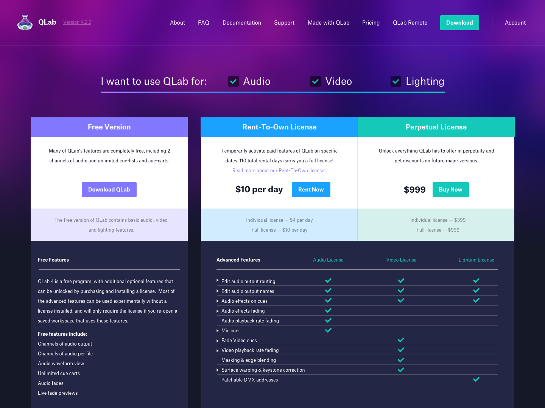 Amanda Yeh - QLab Website Redesign