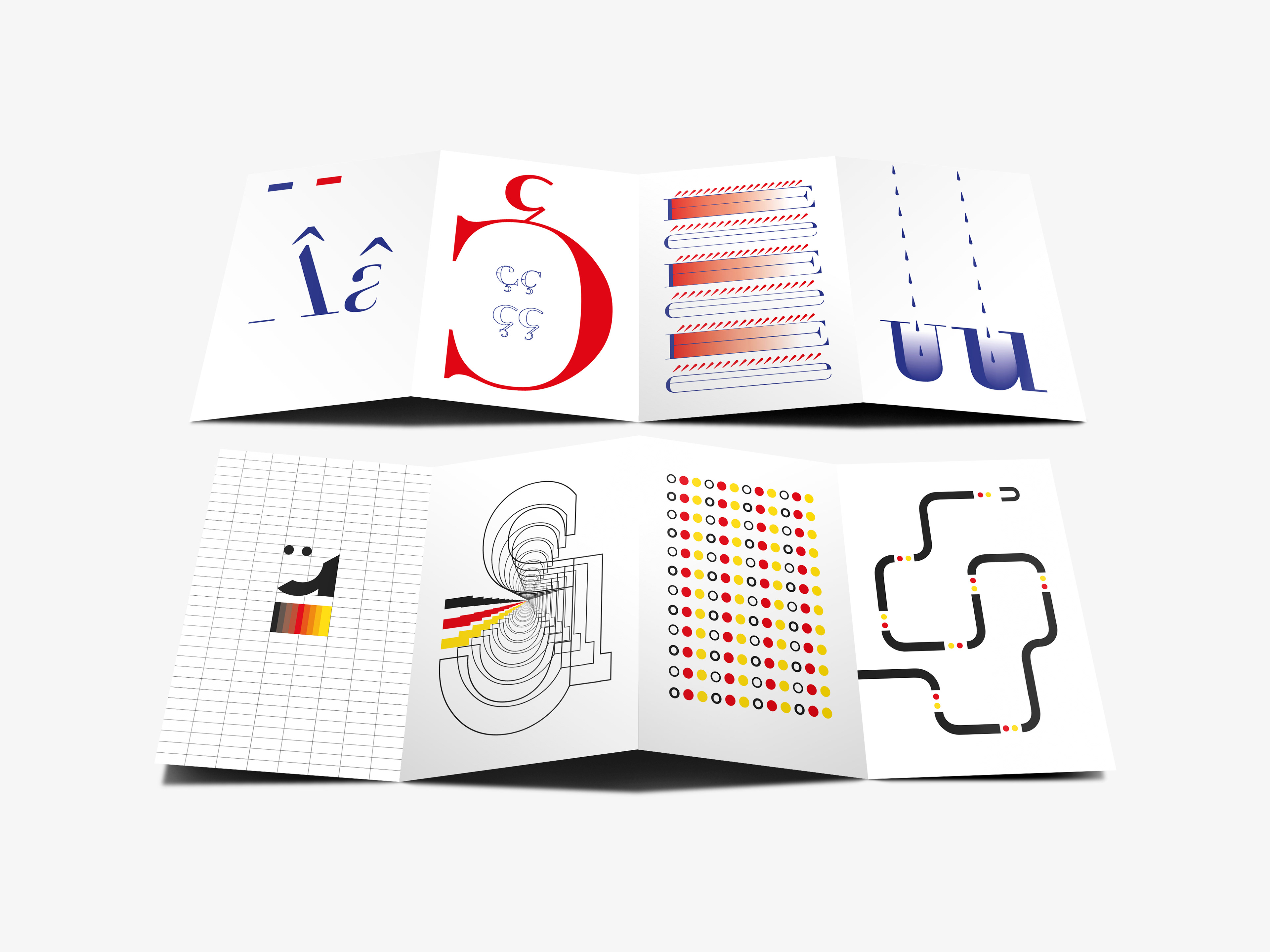 Martin duff europe publication a small publication that visually explores the use of diacritics in the french and german language publicscrutiny Choice Image