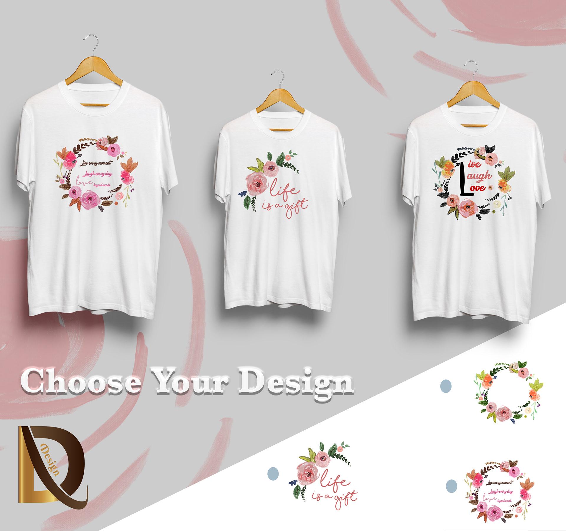 Iman Dahdul Branding T Shirt Design
