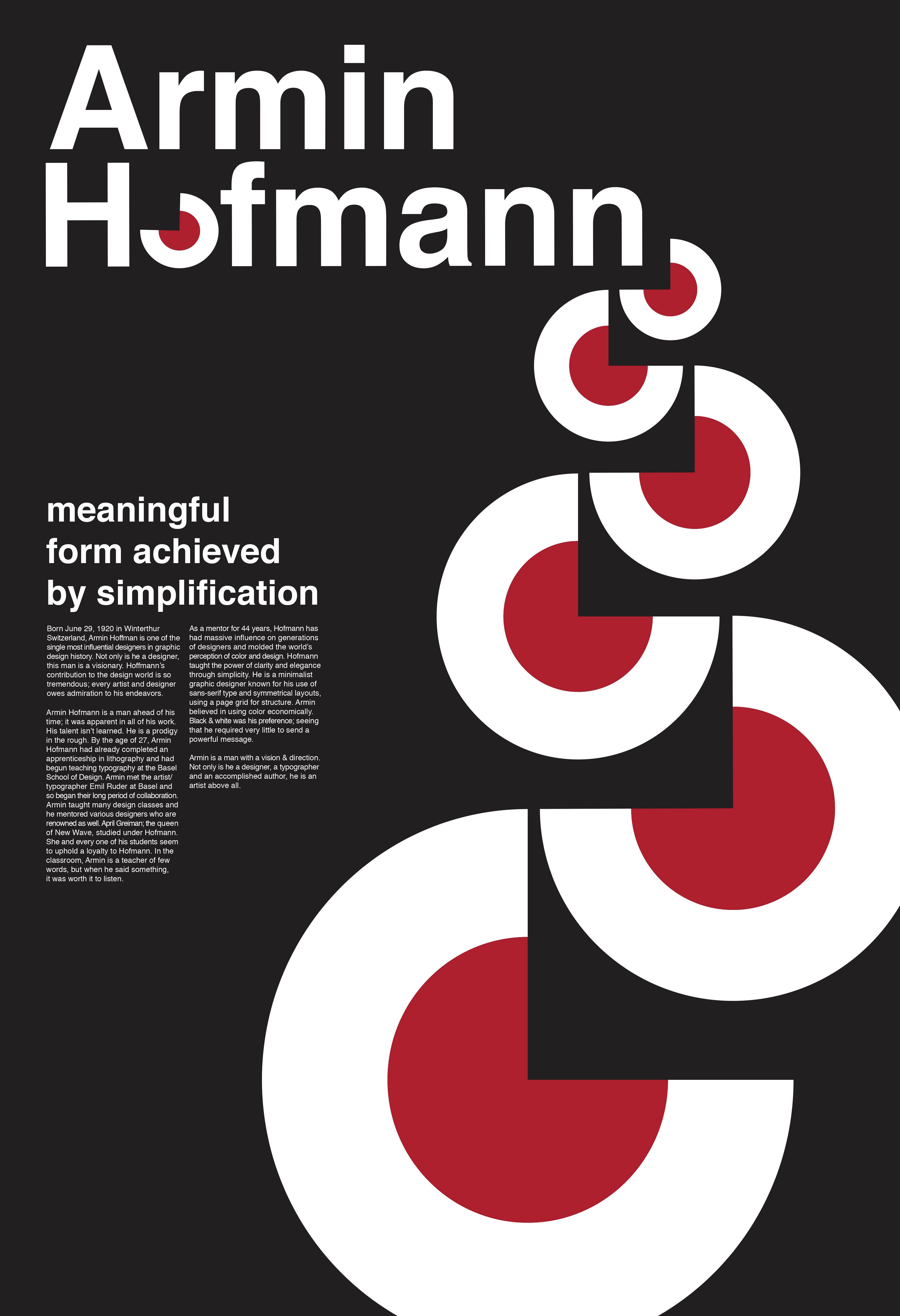 Brandon Stacey Armin Hofmann Poster